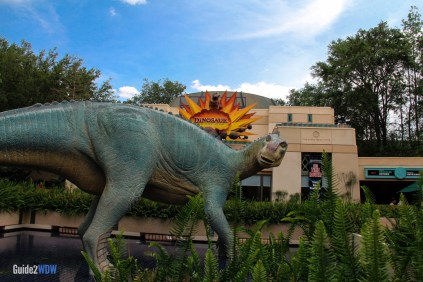 Dino Institute Outside - Dinosaur - Animal Kingdom Attraction