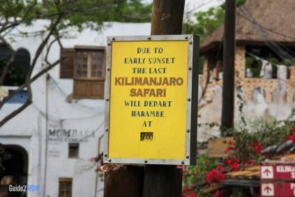 Closing Time - Kilimanjaro Safaris - Animal Kingdom Attraction