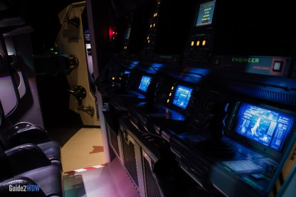 Mission: SPACE Cockpit - Epcot Attraction