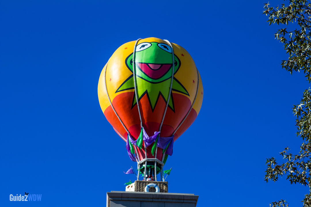 Kermit Balloon - Muppet Vision 3D - Hollywood Studios Attraction