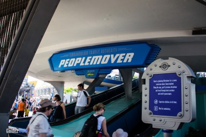 PeopleMover Entrance - Magic Kingdom Attraction