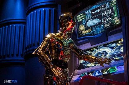 C3PO - Star Tours - Hollywood Studios Attraction