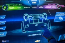 Test Track Touchscreen