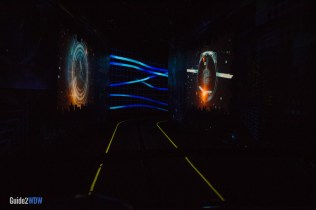 Test Track Ride - Digital Landscape - Epcot Attraction