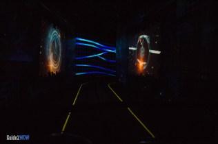 Test Track Ride - Digital Landscape - Epcot Attraction
