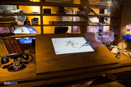 Mickey Drawing - Walt Disney One Mans Dream - Hollywood Studios Attraction