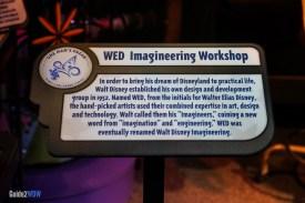 WED Imagineering Sign - Walt Disney One Man,s Dream - Hollywood Studios Attraction