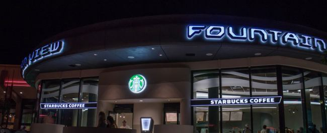Fountain View Cafe - Starbucks