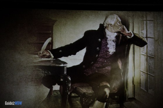 Hall of Presidents - Washington - Magic Kingdom Attraction