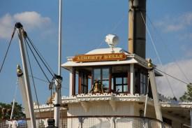 Liberty Belle Riverboat Closeup - Magic Kingdom Attraction