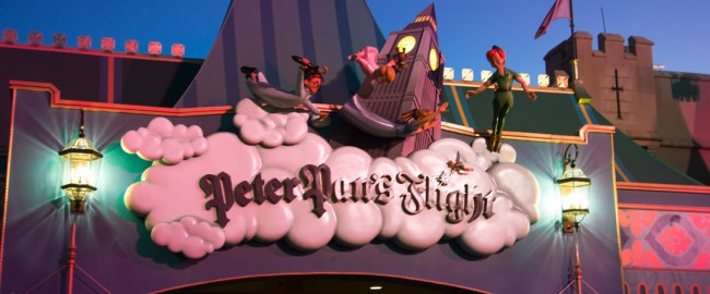 Peter Pan's Flight - Magic Kingdom