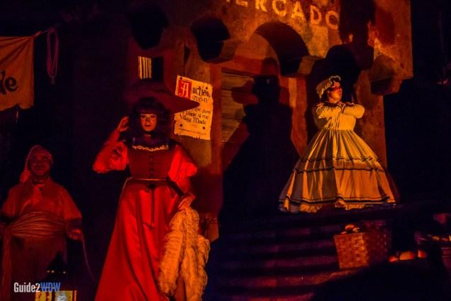 Pirates of the Caribbean - Redhead - Magic Kingdom Attraction