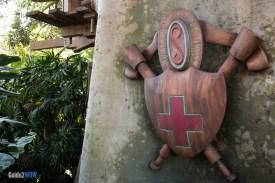 Swiss Family Robinson Treehouse - Shield - Magic Kingdom Attraction