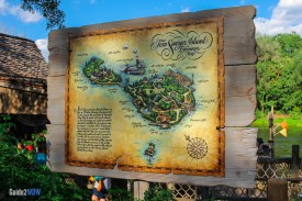 Tom Sawyer Island - Map - Disney World