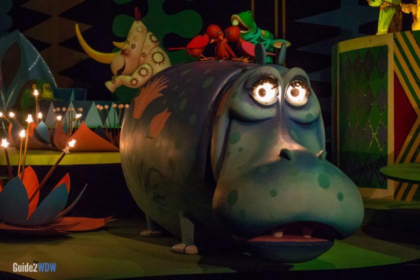 Its a small world hippo - Disney World ride