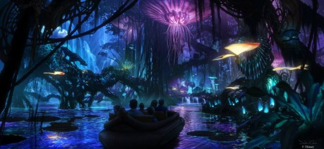Avatar - Na'Vi River Journey at Animal Kingdom