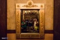 Enchanted Tales with Belle - Queue Mirror - Magic Kingdom Attraction