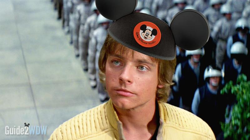 Mark Hamill with Mickey Ears