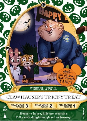 Clawhauser - Zootopia Sorcerers Card