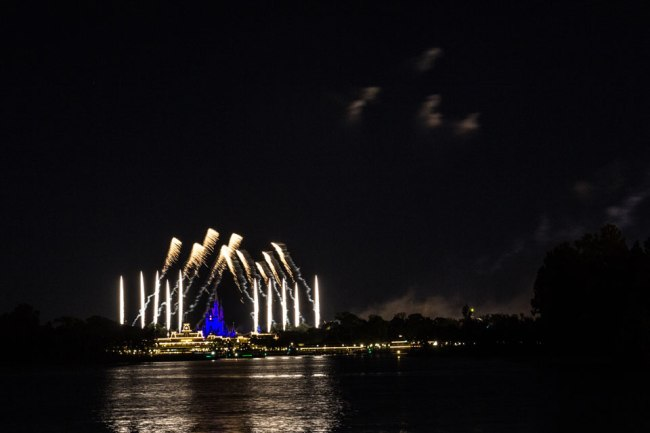 Magic Kingdom Fireworks from TTC - Disney World