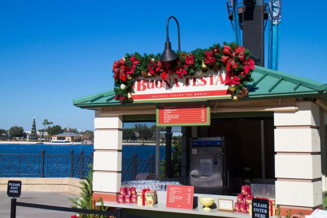 Italy Food Booth - Epcot Holidays Around the World