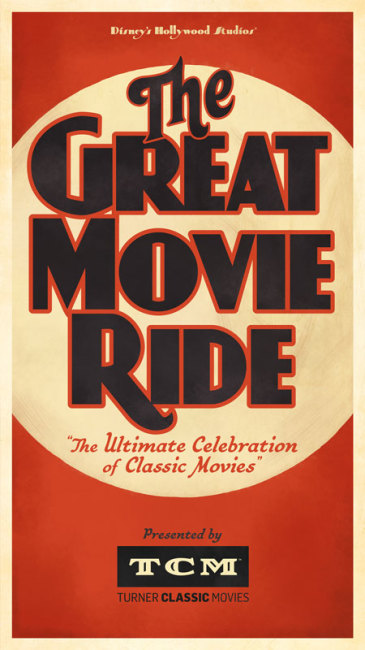 Great Movie Ride - Turner Classic Movies Poster