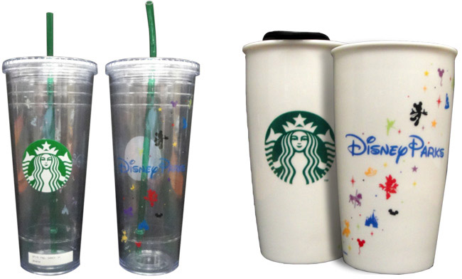 Disney Parks Branded Starbucks Mugs