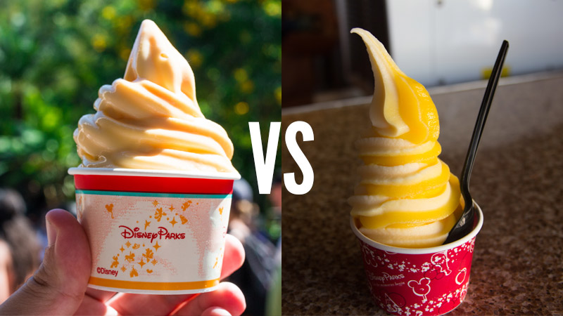 Dole Whip vs Citrus Swirl - Disney World Dessert Face Off