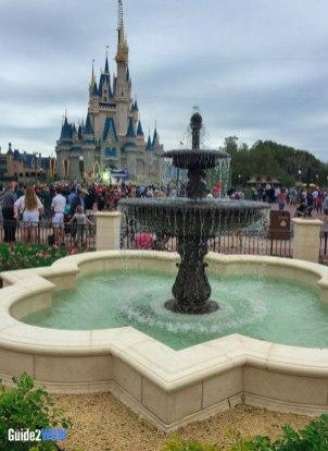Fountain - Magic Kingdom Hub Expansion