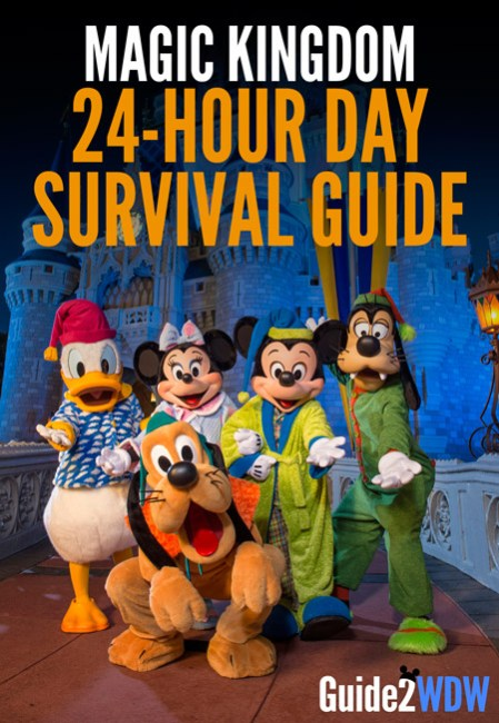 Tips and Tricks to make it through the 24-Hour day at Magic Kingdom
