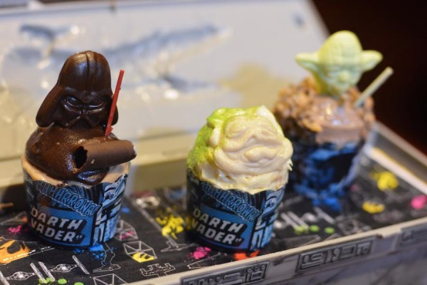 Trio of Star Wars Cupcakes