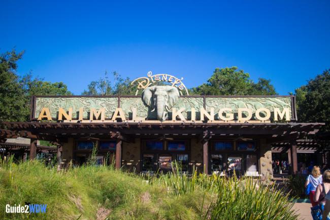 Animal Kingdom Entrance - Walt Disney World