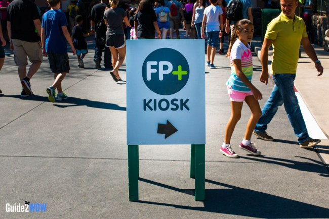 FastPass Kiosk Sign - Guide2WDW