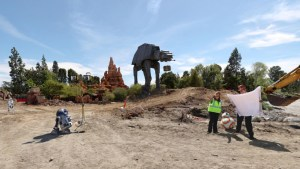 Star Wars Land Construction - 360