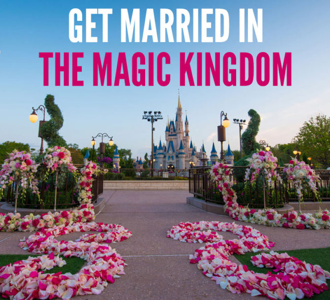 Get Married in The Magic Kingdom