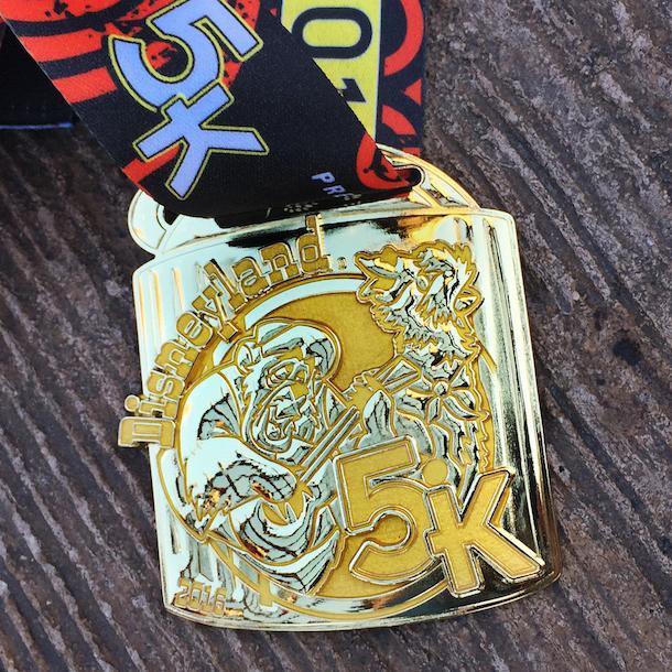 runDisney 5K medal - Disneyland 5K