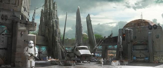 Star Wars Land - Concept Art