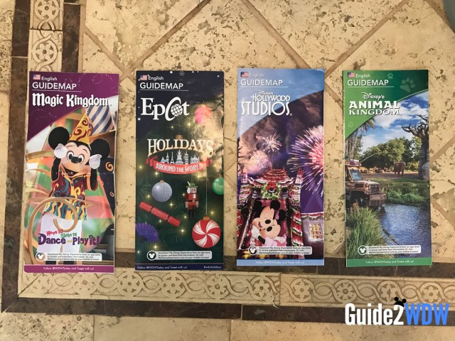 Disney World Freebies - Park Maps