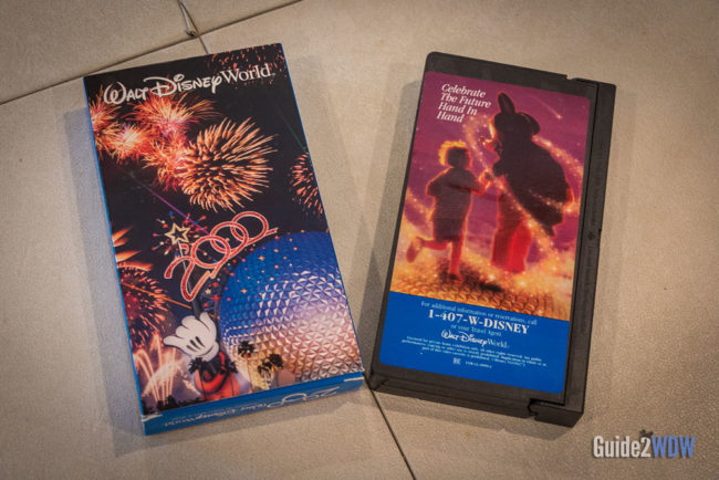 Disney World VHS Tape