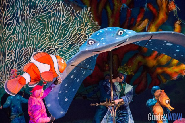 Finding Nemo the Musical - Animal Kingdom