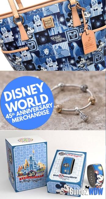 Disney World 45th Anniversary Merchandise