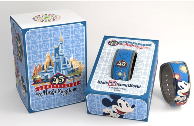 Disney World 45th Anniversary Merchandise -Magic Bands