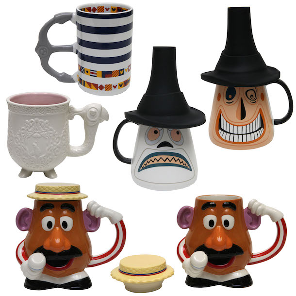 New Disney Mugs