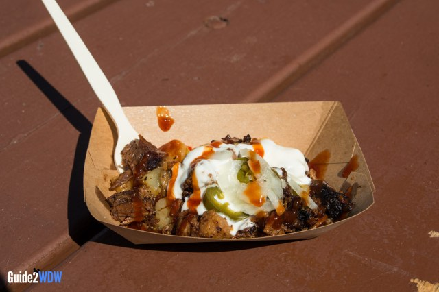 Burnt Ends Hash - Epcot Flower and Garden Food