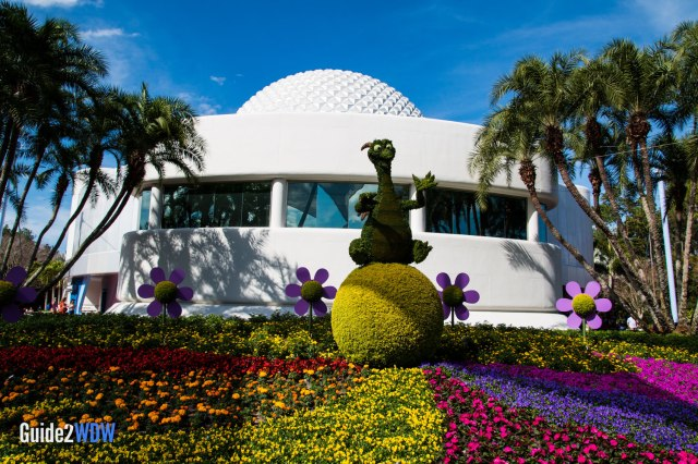 Figment - Topiaries at the Epcot Flower and Garden Festival