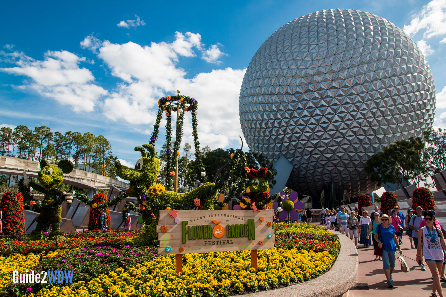 The topiaries of the 2017 Epcot Flower Garden Festival Guide2WDW