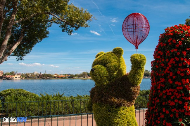 Pooh Topiary - Topiaries at the Epcot Flower and Garden Festival