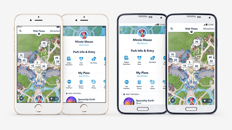 Check Out The Latest Updates to the My Disney Experience App ...