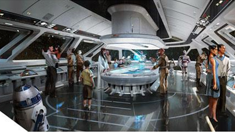 "This Rumored Star Wars ""Spaceship"" Disney World Resort is Blowing My Mind"