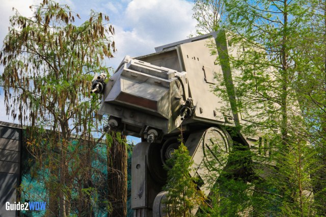 AT-AT - Star Tours - Star Wars at Disney World